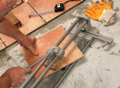 Tile cutter tools