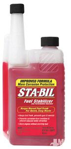 Sta-Bil fuel treatment